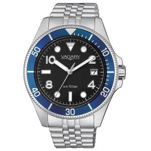 Orologio solo tempo uomo in acciaio Vagary collezione Aqua39
