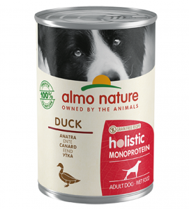 Almo Nature - Holistic Dog - Adult - Monoprotein - 400g x 6 lattine