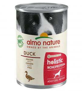 Almo Nature - Holistic Dog - Adult - Monoprotein - 400g x 24 lattine