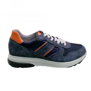 Sneakers Uomo IMAC 702010 JEANS 72168/015 ARANCIO  -10