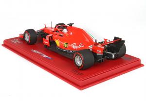 Ferrari SF71-H Gp Belgium 2018 Sebastian Vettel Ltd 100 Pcs 1/18 Bbr