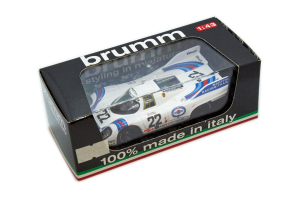 Porsche 917 Martini Racing Team Lm 1971 1/43 Brumm 100% Made in Italy