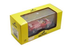 Ferrari 166 Mm Mille Miglia 1950 Marzotto Marini 1/43 Art Model Made in Italy