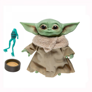 Star Wars The Mandalorian: BABY YODA The Child Grogu Talking Plush by Hasbro