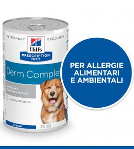 Hill's - Prescription Diet Canine - Derm Complete - 370g x 6 lattine
