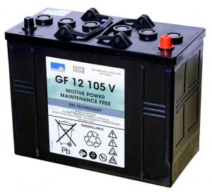 GF 12 105 V BATTERIA AL GEL Sonnenschein - 12 V 105 Ah