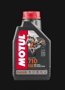 104034 OLIO MOTUL 710 MISCELA MOTO 2 TEMPI 100% SINTETICO