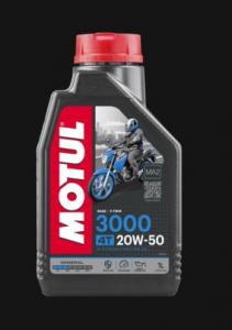 OLIO MOTUL 3000 20W50 4TEMPI MINERALE PER MOTO - SCOOTER 107318