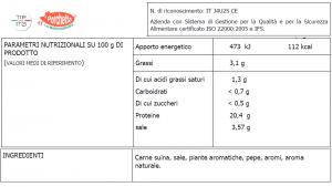 Arista di Maiale arrosto - 1/2kg