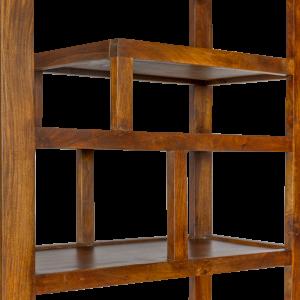 Libreria indiana in legno massello di palissandro