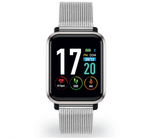 TECHMADE Smartwatch Stark Collection - Total Silver
