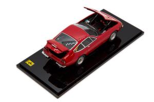 Ferrari 365Gtb/4 Late Version Red 1/43 Kyosho Die Cast Model