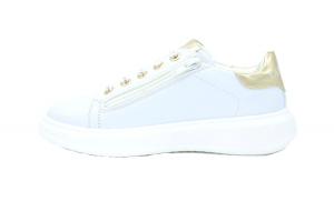 Sneaker cuori glitter