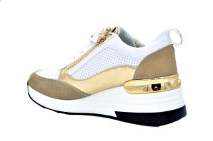Sneaker con zeppa
