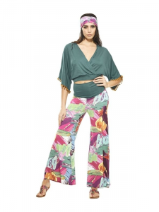 Fancy trousers in viscose jersey | Online clothing