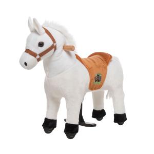 Cavallo Cavalcabile con ruote XS MINI Bianco