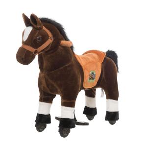 Cavallo Cavalcabile con ruote XS MINI Marrone