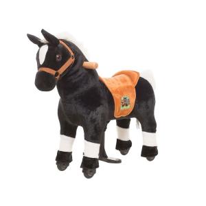 Cavallo Cavalcabile con ruote XS MINI Nero