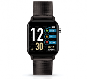 TECHMADE Smartwatch Techwatch X Collection - Metal Black