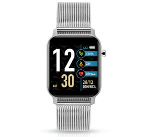 TECHMADE Smartwatch Techwatch X Collection - Metal Silver