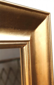 Specchiera Golden wood