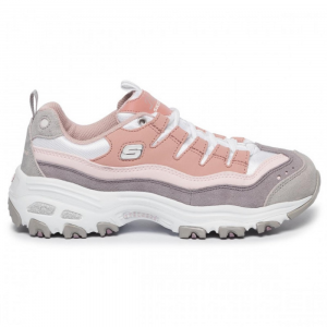 Sneakers Donna D'Lite Sure Thing Skechers 13141 PKPR