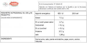 Stinco di Maiale arrosto - 500gr