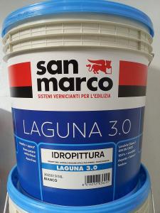 LAGUNA PITTURA LAVABILE PER INTERNIN BIANCO SUPERCOPRENTE SAN MARCO