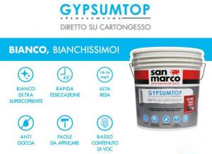GYPSUMTOP PITTURA PER CARTONGESSO