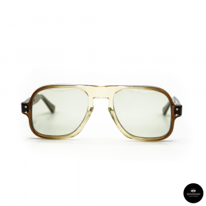 Julius Tart Optical , DART Brown Gradient / Solid light Green