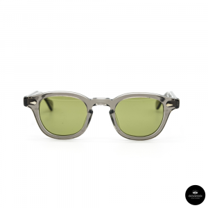 Julius Tart Optical , AR Grey Crystal / Solid Green