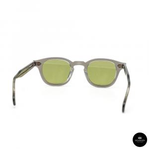 Julius Tart Optical , AR Grey Crystal / Solid Green