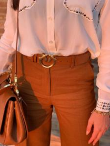 Pantalone Simpatico armatur marrone Pinko