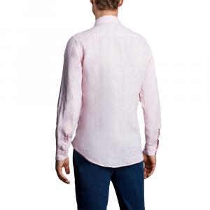 Camicia lino da uomo FAY NCMA142259THTKM401 -21