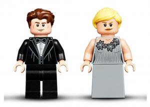 Lego 75948 LEGO Harry Potter La Torre dell'Orologio di Hogwarts