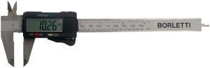 Calibro digitale centesimale inox mm 200 Borletti CEP20