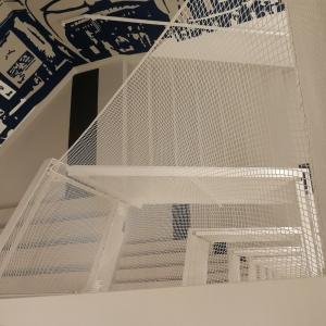 Rete di protezione per scale