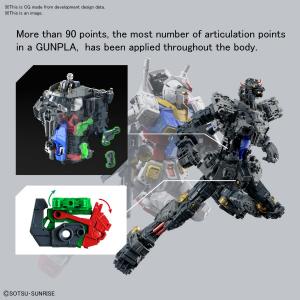 Model Kit Gundam: PG GUNDAM RX-78-2 UNLEASHED 1/60 by Bandai