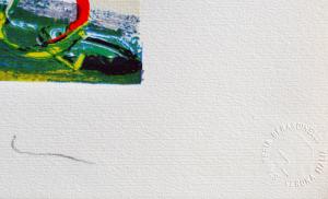 Schifano Mario Serigrafia polimaterica Formato cm 56x76