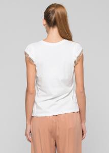 KOCCA ZENA T-shirt con stampa e applicazioni