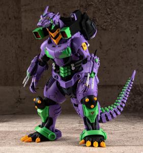 *PREORDER* Godzilla vs Evangelion: TYPE-3 KIRYU EVA UNIT-01 COLOR VER. by Aoshima