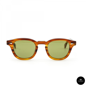 Julius Tart Optical , AR Light Brown Sasa / Solid Green