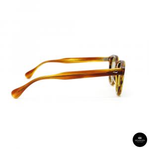 Julius Tart Optical , AR Light Brown Sasa / Solid Green