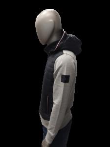 Felpa/Giubbotto uomo con cappuccio e tessuto tecnico tommy hilfiger