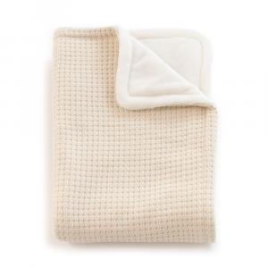 Copertina per culla La Ninna Mini Soft Stone Crema 100x75 cm