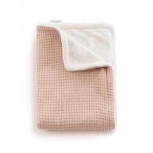 Copertina per culla La Ninna Mini Soft Stone Rosa 100x75 cm