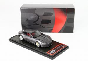 Ferrari Roma Grigio Silverstone 740 Ltd 172 PCs 1/43 BBR