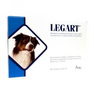 Legart (30 cpr) - integratore osteo-articolare per cani e gatti