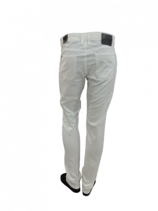 Jeans in Cotone Piquet colore Bianco | marca JECKERSON