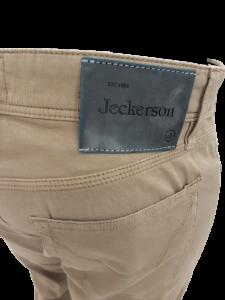 Jeans in Cotone Piquet colore Beige   marca JECKERSON